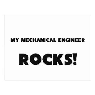 ¡MIS ROCAS del ingeniero industrial! Postal