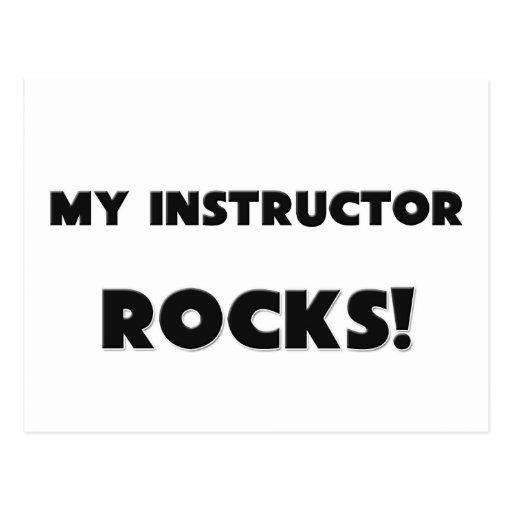 ¡MIS ROCAS del instructor! Tarjetas Postales