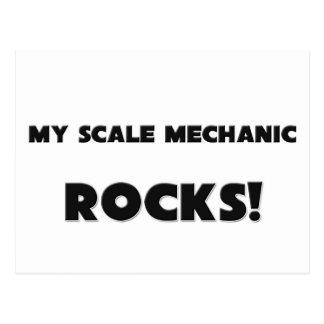 ¡MIS ROCAS del mecánico de la escala! Postal