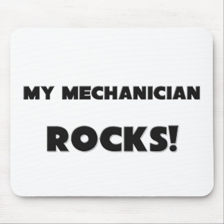 ¡MIS ROCAS del mecánico Tapete De Ratón
