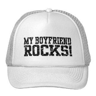 Mis rocas del novio gorro de camionero