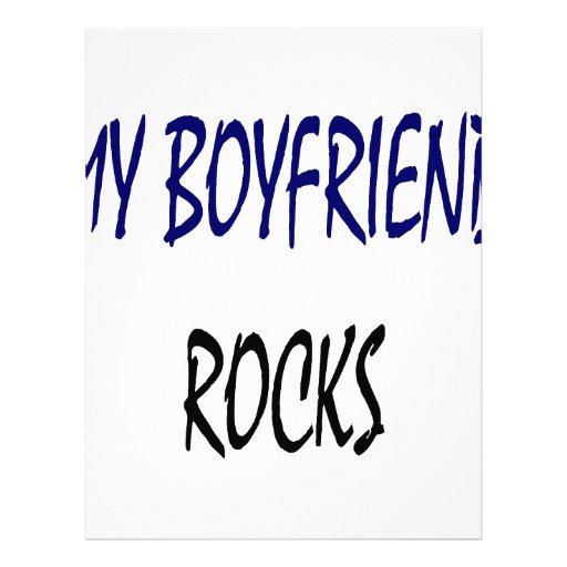 Mis rocas del novio plantillas de membrete