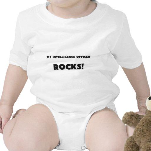 ¡MIS ROCAS del oficial de inteligencia! Camiseta