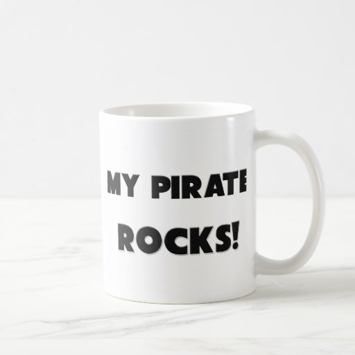 ¡MIS ROCAS del pirata! Taza De Café