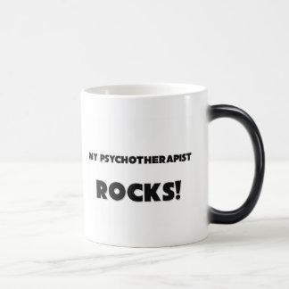 ¡MIS ROCAS del psicoterapeuta! Taza De Café