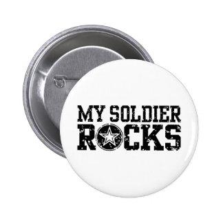 Mis rocas del soldado pin