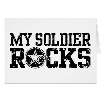 Mis rocas del soldado tarjetas