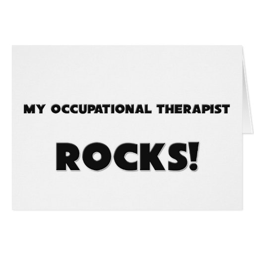 ¡MIS ROCAS del terapeuta profesional! Tarjeta