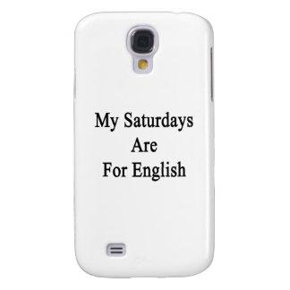 Mis sábados están para el inglés