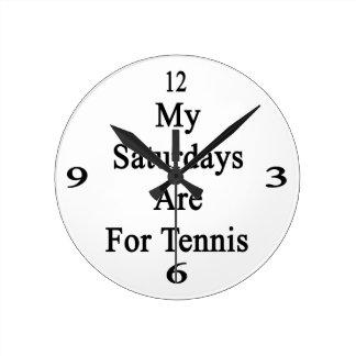 Mis sábados están para el tenis