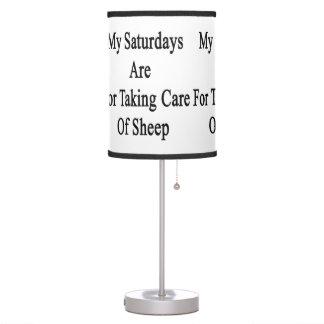 Mis sábados están para tomar el cuidado de ovejas