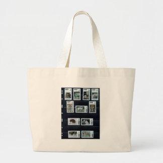 Mis sellos personalizados p1 por zazzle com dorin bolsa lienzo