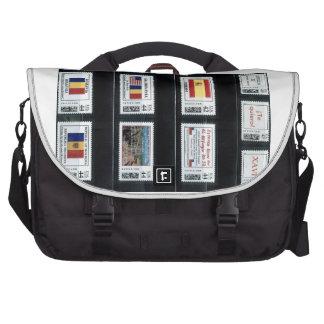 Mis sellos personalizados p3 por zazzle com dor bolsas para ordenador