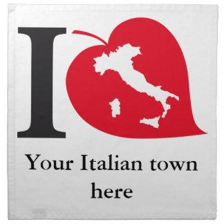 Mis servilletas italianas