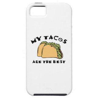 Mis Tacos son el mejor iPhone 5 Fundas