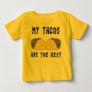 Mis Tacos son el mejor Playeras