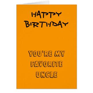Mis tarjetas de cumpleaños preferidas del tío