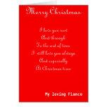 Mis tarjetas de felicitación del navidad del prome