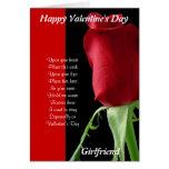 Mis tarjetas del día de San Valentín de la novia