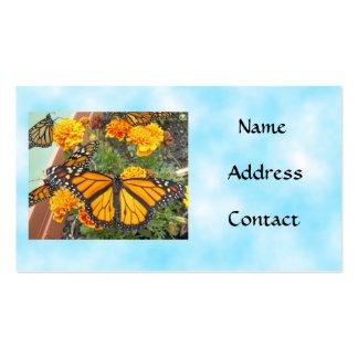 Mis tarjetas del Mariposa-negocio del monarca Tarjetas De Visita