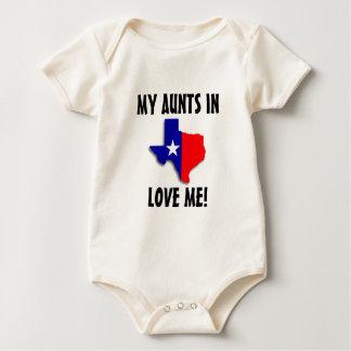 Mis tías me aman body para bebé