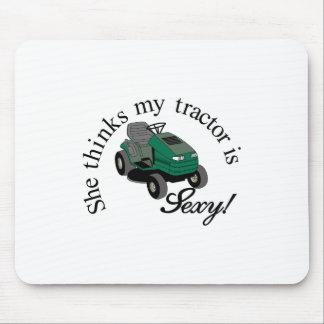 Mis tractores atractivos tapete de ratón