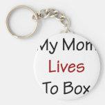 Mis vidas de la mamá a la caja llaveros personalizados