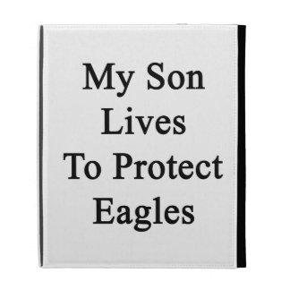 Mis vidas del hijo para proteger a Eagles