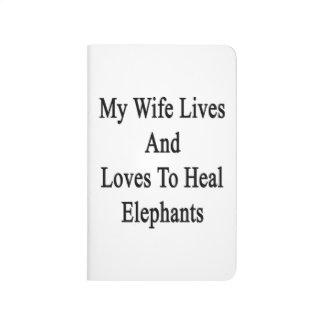Mis vidas y amores de la esposa para curar cuadernos