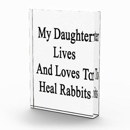 Mis vidas y amores de la hija para curar conejos