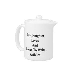 Mis vidas y amores de la hija para escribir los