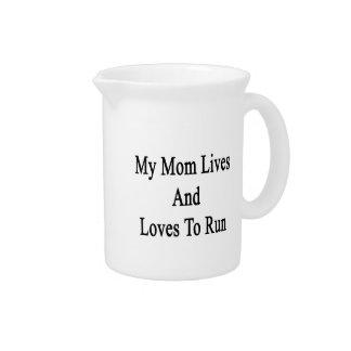 Mis vidas y amores de la mamá a correr jarrón