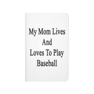 Mis vidas y amores de la mamá para jugar a béisbol