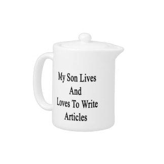 Mis vidas y amores del hijo para escribir los