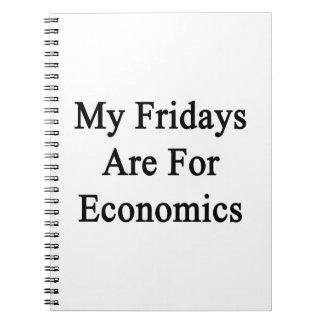 Mis viernes están para la economía libreta espiral