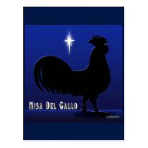 Misa Del Gallo Postcard