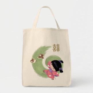 Misaki Grocery Tote Grocery Tote Bag