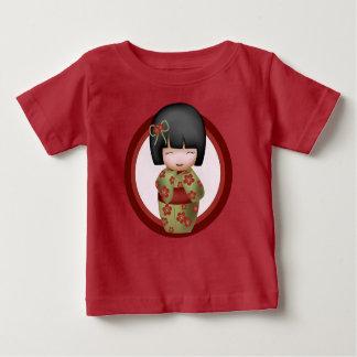 Misaki the kokeshi doll tee shirt