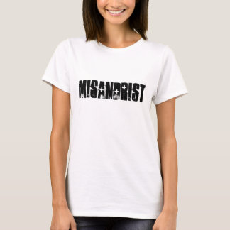 Misandrist (TM) Classic Tee White XL