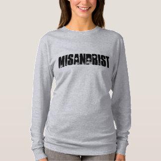 Misandrist (TM) Nano Long Sleeve Gray XL T-Shirt