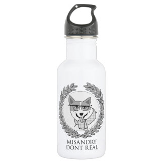 MISANDRY DONT REAL waterbottle 18oz Water Bottle