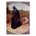 Misanthrope By Bruegel A. Pieter Cards