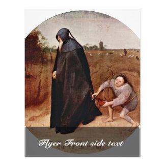 Misanthrope By Bruegel D. Ä. Pieter (Best Quality) Flyer