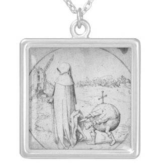 Misanthrope Silver Plated Necklace