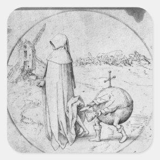 Misanthrope Square Sticker