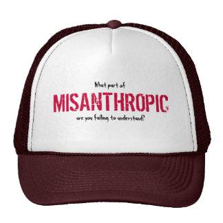 Misanthropic hat