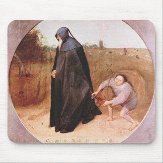 Misántropo de Pieter Bruegel Alfombrillas De Ratones