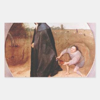 Misántropo de Pieter Bruegel Rectangular Altavoz