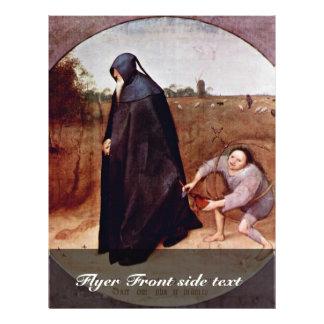 Misántropo por Bruegel D. Ä. Pieter (la mejor cali Tarjetas Publicitarias