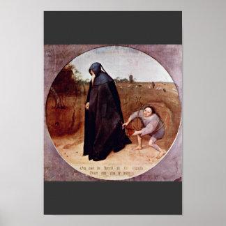 Misántropo por Bruegel D. Ä. Pieter (la mejor cali Impresiones